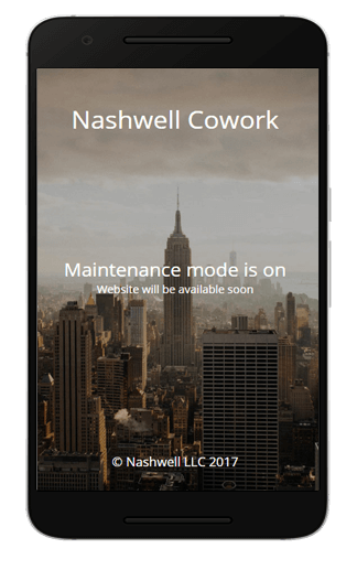 nashwell mobile site
